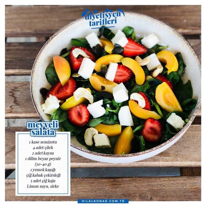 Meyveli Salata